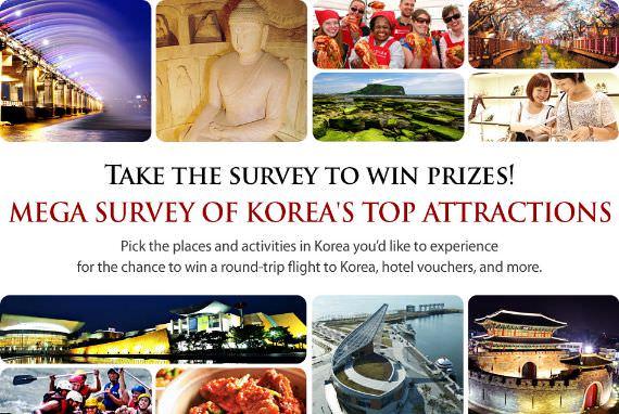 Isi Survei dan Menangkan Hadiah Perjalan ke Korea