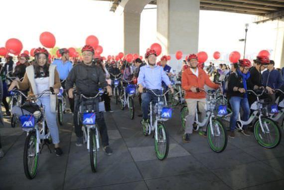 Park Won Soon, Walikota Seoul Melakukan Tur Sepeda Bersama dengan Wisatawan Indonesia di kota Seoul