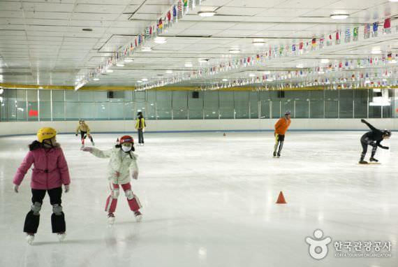 Arena Ice Skating Pusat Olahraga Olimpiade Bundang