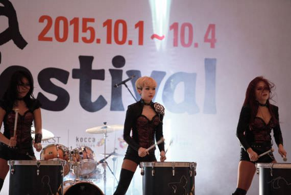 DrumCat Performance Korea Festival 2015