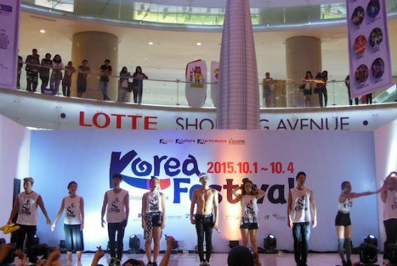 Sachoom Meriahkan hari ke-3 Panggung Utama Korea Festival 2015