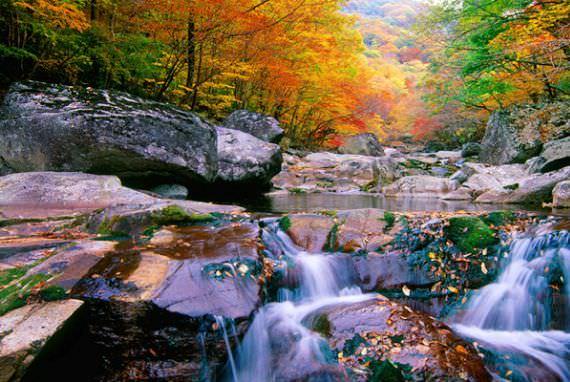 Gunung Jiri di Sancheong, Gyeongsangnam-do