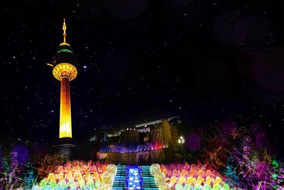 Nikmati Festival Cahaya yang Brilian di Korea!