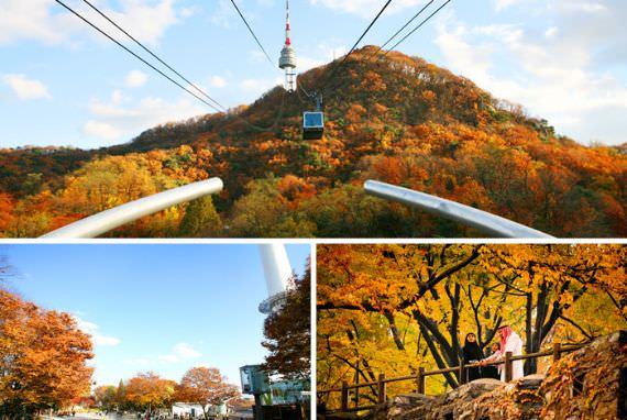 Merasakan Seoul dari perspektif yang berbeda di Namsan