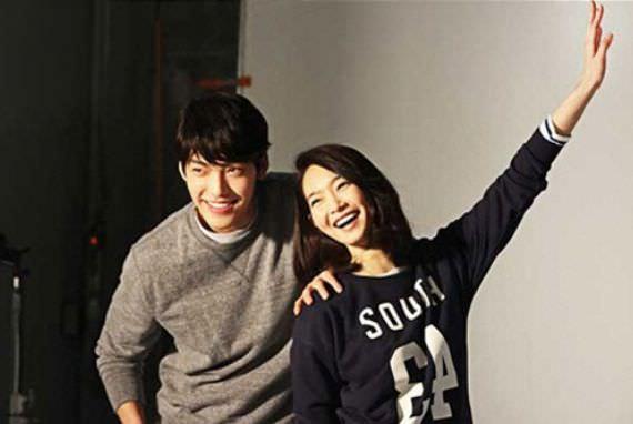 Shin Min-a dan Kim Woo-bin Berpacaran