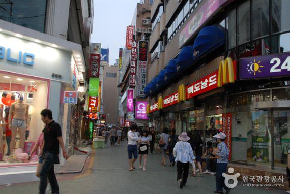 Jalan Kebudayaan Euneungjeongi Eunhaengdong