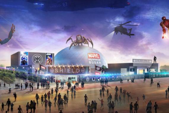 Bergabunglah dengan Avengers di Marvel Experience Busan!