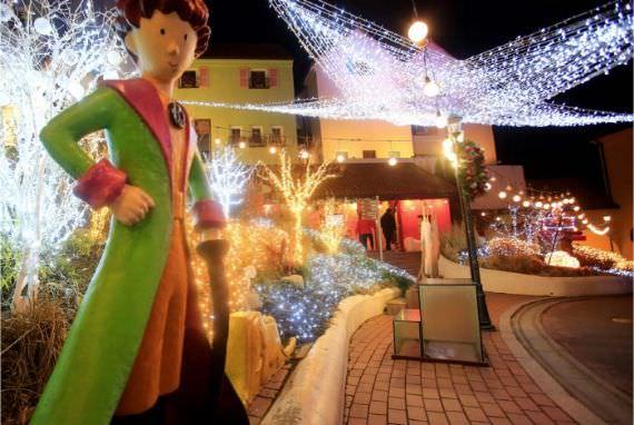 Festival Cahaya Pangeran Kecil dari Petite France