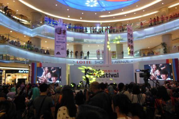 Korea Festival 2015 Hari Terakhir, Lotte Shopping Avenue Dipadati Pengunjung