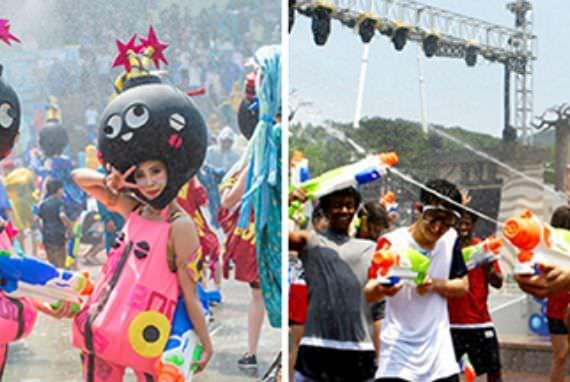 Festival Menyegarkan Sepanjang Musim Panas di Taman-Taman Hiburan