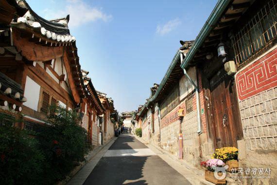 Desa Tradisional Bukchon Hanok