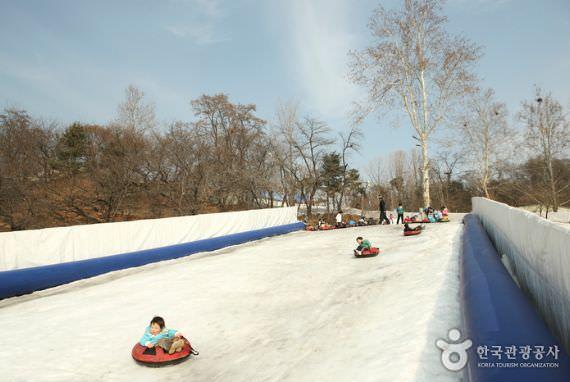 Lapangan Seluncur Salju Pusat Lembaga Anak-Anak Korea