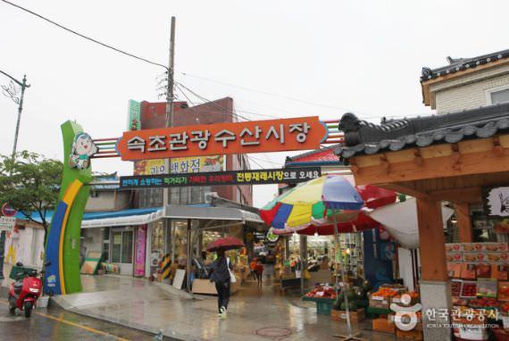 Pasar Perikanan & Turis Sokcho (Sebelumnya Pasar Jungang)