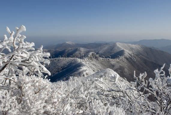 Snowscpe of Mt,Gaji