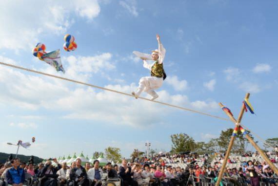Festival Anseong Namsadang Baudeogi