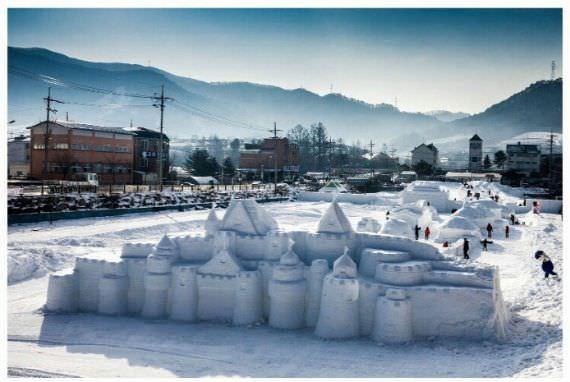 Festival Salju Daegwallyeong