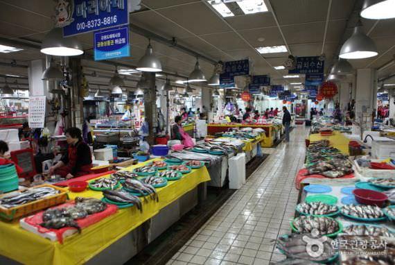 Pasar Seafood Jumunjin