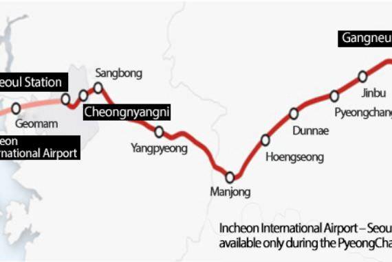 KTX akan Beroperasi di Gyeonggang Mulai 22 Desember