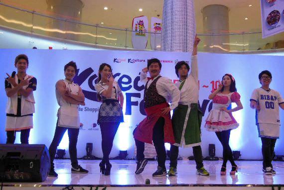 Korea Festival 2015, Bibab Show Tampilkan Adegan Teatrikal dan Beatbox yang Khas