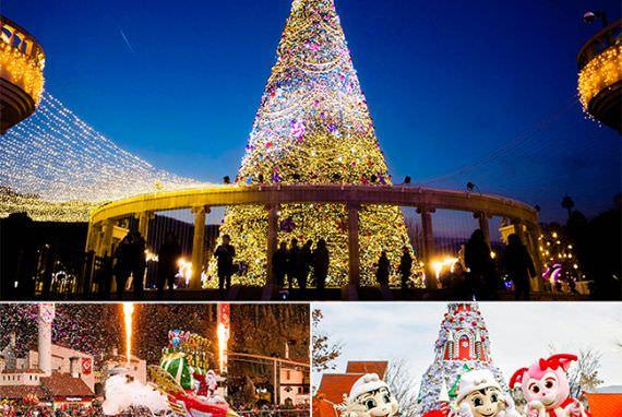 Nikmati Festival Musim Dingin di Taman Hiburan!