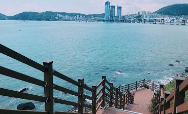 Menemukan pemandangan terbaik di kafe-kafe Busan