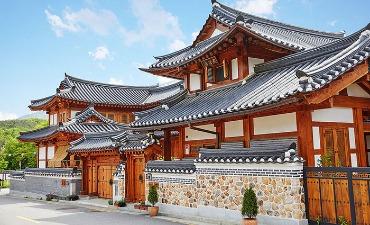 Photo_Musim Panas di Desa Hanok Eunpyeong yang Indah