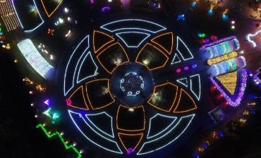 Festival Cahaya Ulsan Grand Park (별빛, 꿈을 그리다 - 울산대공원 장미원 빛축제 2018)